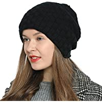DonDon Women's Winter Beanie Slouch Style With Very Soft and Comfortable To Wear Inner Lining - Various Colours