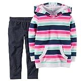 Land Sous-vêtement Ensemble Vêtements bébé fille 2pièces Pull à capuche & Jeggings Lot à rayures -  multicolore -