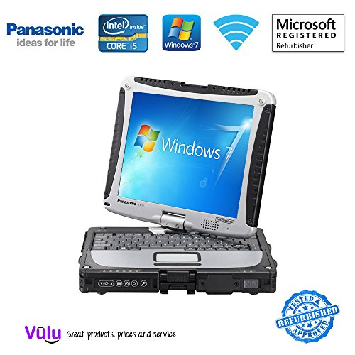 Preisvergleich Produktbild Panasonic Toughbook CF-19 Core 2 Duo Fully Rugged Tablet Notebook Laptop Windows Vista Business DUAL TOUCH SCREEN Serial Port Wi-Fi Bluetooth