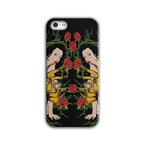 Sperren Herz Mädchen Valentine Nackt Mädchen iPhone 5 / 5S Hülle | Wellcoda