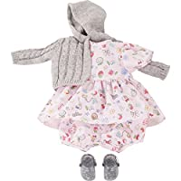 Gotz 3402922 Baby Doll Combo Villa Villekulla - Size S - Dolls Clothing / Accessory Set - Suitable For Baby Dolls Size S (30 - 33 cm)