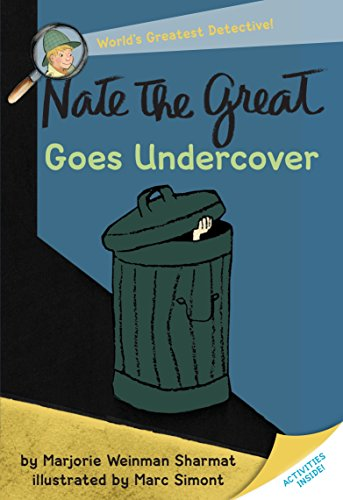 Nate The Great Goes Under Cover Cover Image