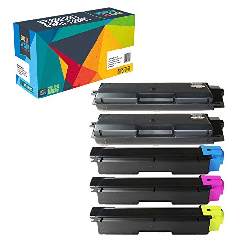 Preisvergleich Produktbild Do it Wiser ® 5 Toner Kompatibel TK 590 für Kyocera ECOSYS M6026 M6526 P6026 CDN CIDN | FS C5250 DN | FS C2026 C2126 C2526 C2626 MFP