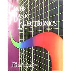 GROB BASIC ELECTRONICS 7TH EDI (OLD & USED BOOK) INDIAN EDITION