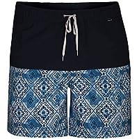 Hurley Groovy Volley 17' Pantalones Cortos, Hombre, Blanco, XL