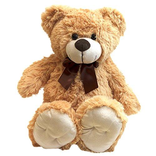 Multistore 2002 Plush Bear di Sunkid Kuschel Teddy Bear 50cm, Farben:Hellbraun