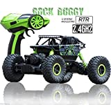 #8: Rock Crawler 1:18 Scale 4WD 2.4 Ghz 4x4 Rally Car RC Dirt Drift Monster Truck (Any Assorted Colour)