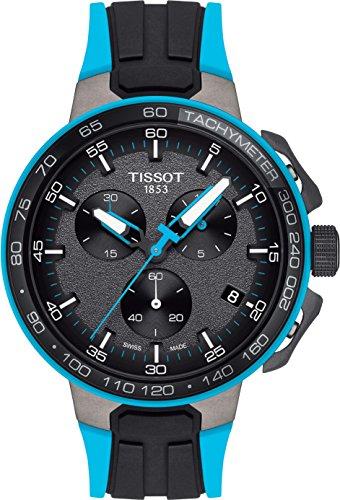 Tissot T-RACE CYCLING LIGHTBLUE SILIK T111.417.37.441.05 Herrenchronograph