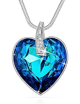 """""""Love Heart"""" von Lydia Queen, Halskette mit Herzanhänger."""