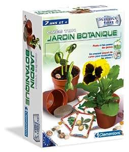 Clementoni - 62255.9 - Jeux éducatifs et scientifiques Jardin Botanique