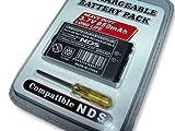 KIT BATERIA Recargable para NINTENDO DS NDS CLASSIC 850mah + Destornillador