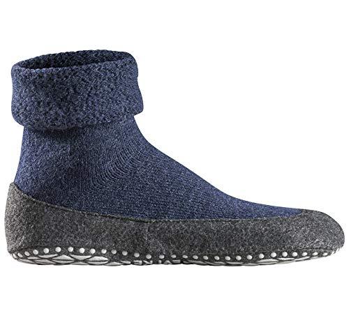 FALKE Herren rutschfeste Socken Cosyshoe - 90% Schurwolle - Merino Hausschuhe mit anti-rutsch ABS Sohle - Größe 39-46 - versch. Farben - 1 Paar Hüttenschuhe wärmend - Gummisohle