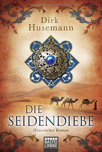 Buchseite und Rezensionen zu 'Die Seidendiebe' von Dirk Husemann