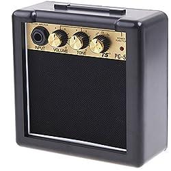 ammoon PG-5 Control de 5W Guitarra Eléctrica Amperio Amplificador del Altavoz de Tono del Volumen