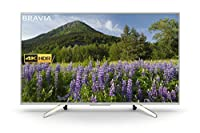 Sony KD43XF7003 43-Inch 4K HDR Ultra HD Smart TV for Google Home and Amazon Alexa - Black (2018 Model)