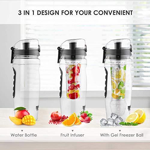 Zoom IMG-2 amzdeal bottiglia acqua 1 litro