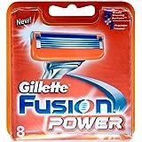 Gillette Fusion Power Men's Razor Blades - 8 Blades