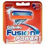Gillette Fusion Power Men's Razor Blades – 8 Blades