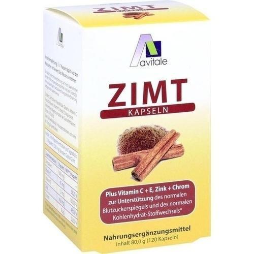 Zimt Kapseln 500 mg+Vitamin C+e 120 stk