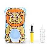 Decdeal Aufblasbare Baby Wickelauflage mit einer Nut für Hintern Waschen Inkl. Sprühflasche und Pumpe Rohr