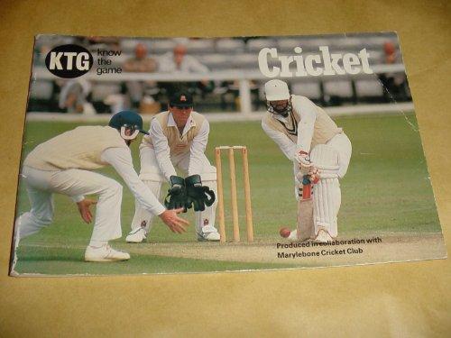 Cricket (Know the Game) por Club Marylebone Cricket