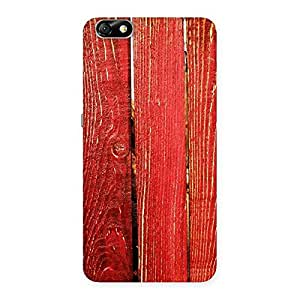 Red Bar Wood Print Back Case Cover for Honor 4X