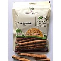 Organic Cinammon Quills 100g - Premium Quality, Ceylon Variety, Extra Long, Fragrant