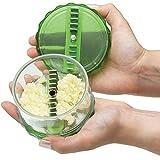 #10: Vepson Garlic Presses Peeler Chopper Dicer For Nuts Ginger Kitchen Tool,Green