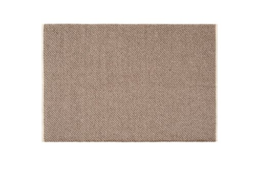 Creative carpets Alfombra Fibras Naturales, Yute, Marrón, 60 x 90 cm