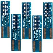 FAYM- compatible wii nunchuck WiiChuck adaptateur pour Arduino - bleu (5Packs)
