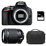 NIKON D5600 + TAMRON 18-200 VC + Sac + Carte SD 4Go -