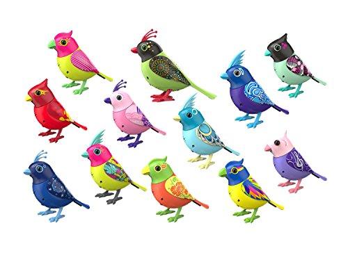 World Brands - Digibirds, interactivo pájaro juguete con pfeifring, circa 7,5 x 9 cm ordenados (88286)