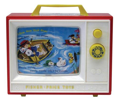 FISHER PRICE 31637 Tv Mit 2 Liedern, weiß