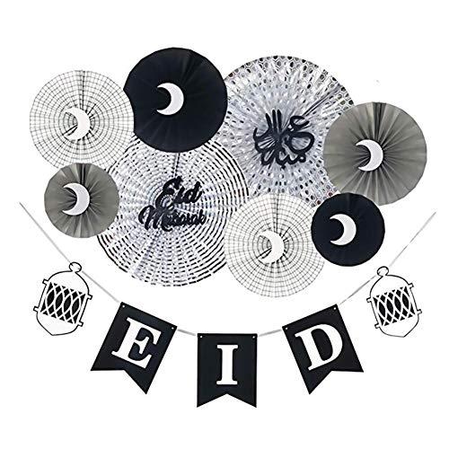 Seidenpapierfächer 8 Stück Party Rosetten als Dekoration auf Hochzeiten, Babypartys, Geburtstagsfeiern, Wanddekoration, zum Aufhängen