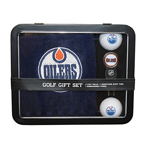 nhl-edmonton-oilers-4-piece-golf-gift-set-blue-orange
