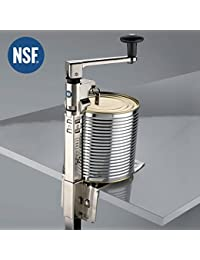 BOJ 00111704 - Abrelatas de mesa industrial para hostelería modelo JFA con Certificación NSF, Niquelado