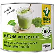 Raab vitalf Brentwood bio Matcha de Mix for Latte, extracto de té verde de Japón