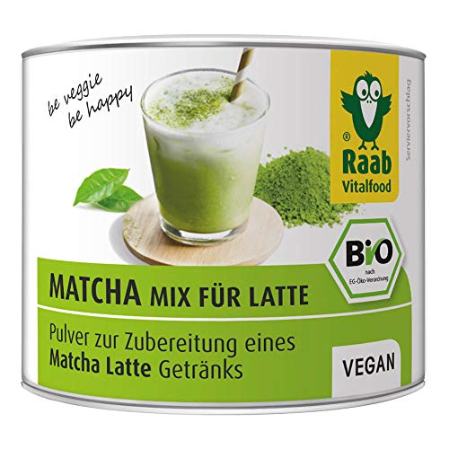 atcha-Mix for Latte, Grüntee-Extrakt aus Japan, Premium Qualität, laborgeprüft, vegan, 90 g ()