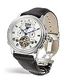 Perigaum p0502stw 2506–Damen Armbanduhr, Lederband schwarz