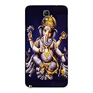 Stylish Dancing Ganesha Back Case Cover for Galaxy Note 3 Neo