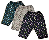 Kuchipoo Boys' Cotton Shorts, Set of 3 (KUC-CAPR-102--3-4 Years, Multi-Coloured, 3-4 Years)
