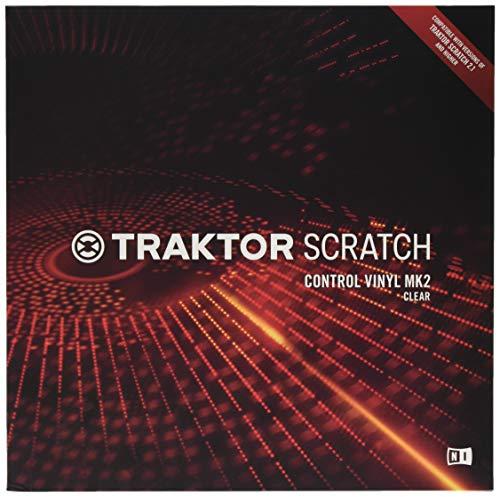 Native Instruments TCV Traktor Scratch Pro Control Vinyl Mk2, Trasparente