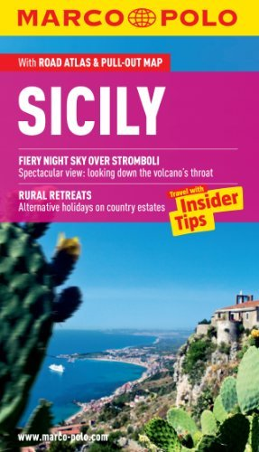 Sicily Marco Polo Guide (Marco Polo Guides) (Marco Polo Travel Guides): Written by Marco Polo, 2012 Edition, (Pap/Map) Publisher: Mairs Geographischer Verlag,Kurt Ma [Paperback]