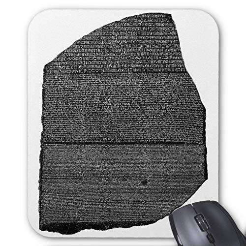 The Rosetta Stone Egyptian Granodiorite Stele Mouse Pad (Rosetta Stone Pc)