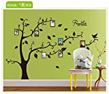 Wandaufkleber Home Hintergrund Wanddekoration kreative Foto Baum Wandaufkleber 170 × 120 cm