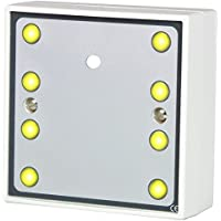Hoyles S1788PY High Power Sounder with 8 Ultra Bright Yellow LED, 12 V, White - ukpricecomparsion.eu