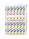 Quo Vadis My Agenda eurotex Agenda con tasca zip Agenda Scolastica giornaliera 12x 17cm rosa anno 2017–2018