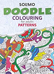 Amazon Brand - Solimo Doodle Colouring for Adults - Patterns