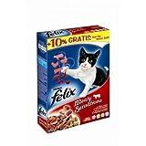 FELIX Sensations Meaty mit Fleisch 1 kg, Trockenfutter, Katzenfutter
