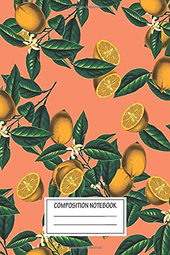 Notebook: Lemon And Leaf , Journal for Writing, Size 6